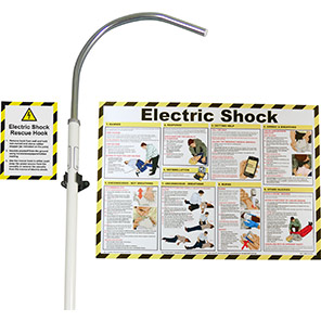 Electric Shock Rescue Hook Kit