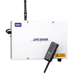 SBES LifeSaver Micro Lone Worker Alarm System