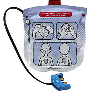 Defibtech Lifeline VIEW Paediatric Replacement Defibrillator Pads (Pack of 2)