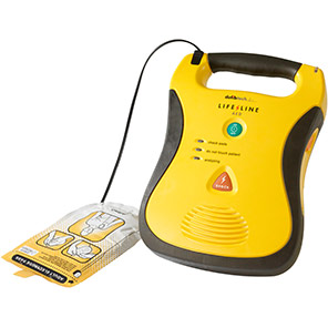 Defibtech Lifeline Semi-Automatic Defibrillator School Package