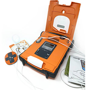 Cardiac Science Powerheart G5 Automatic Defibrillator and CPR Unit