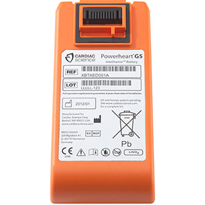 Cardiac Science Powerheart G5 Defibrillator Battery