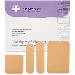 Dependaplast 40mm Washproof Plasters (Box of 100)