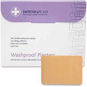 Dependaplast 75mm Washproof Plasters (Box of 50)