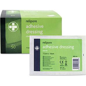 Relipore Medium Adhesive Dressing Pads (Box of 50)