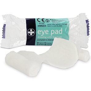 Reliance Medical Eye Pad Dressings (Pack of 10)