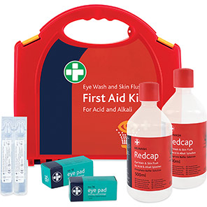 Redcap Aura Deluxe Eye Wash & Skin Flush Kit