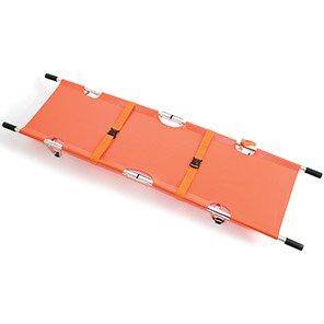 CODE RED Orange Bi-Fold Stretcher