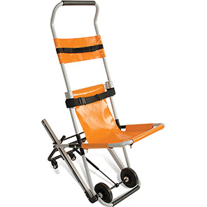 CODE RED Orange Evacuation Chair with Bracket and Cover