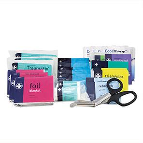 Reliance Medical Motokit British-Standard Vehicle First Aid Kit Refill Packs