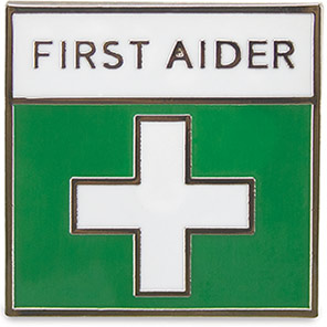 Reliance Medical First Aider Badge