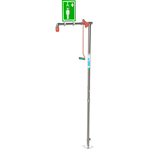 Hughes Free-Standing Stainless Steel Safety Shower