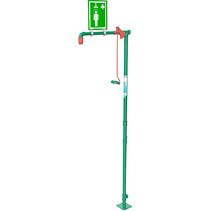 Hughes Free-Standing Galvanised Safety Shower