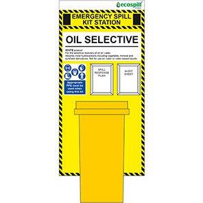 Arco 240L Oil Spill Kit Station Board