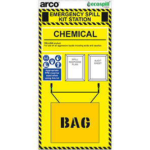 Arco Chemical Spill Kit Holdall Station Board