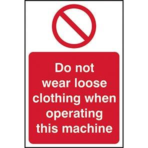 Do Not Wear Loose