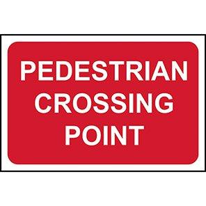 "Spectrum Industrial ""Pedestrian Crossing Point"" Sign"