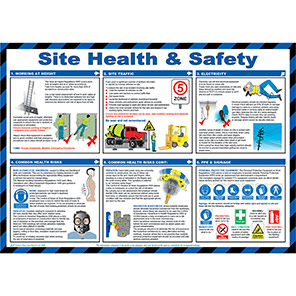Spectrum Industrial Site Health and Safety Poster