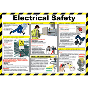 Spectrum Industrial Electrical Safety Poster
