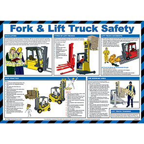 Spectrum Industrial Fork and Lift Truck Safety Poster