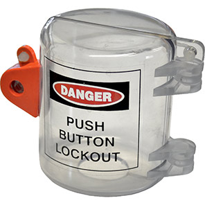 Large Push-Button Lockout Cover