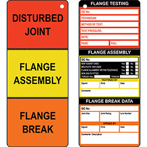 AssetTag Flange Insert Tag (Pack of 10)
