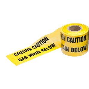 Ultratape Gas Pipe Underground Warning Tape 365m