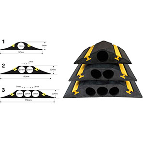 Vulcascot HiViz Industrial Cable Protector
