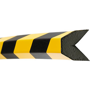 TRAFFIC-LINE Black/Yellow Trapezoid Magnetic Edge Protector