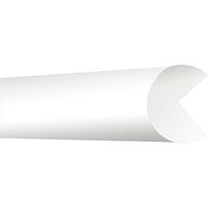 TRAFFIC-LINE White Semi-Circle Edge Protector