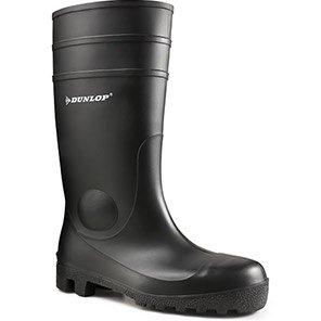 Dunlop Protomastor Black S5 Safety Wellington Boots