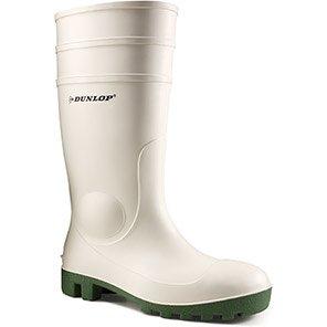 Dunlop Protomastor White SB Safety Wellington Boots