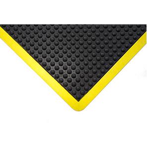 COBA Bubblemat Black/Yellow Anti-Fatigue Mat