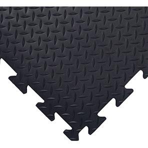 COBA Deckplate Connect Black Anti-Fatigue Mat
