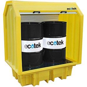 Ecotek Two-Drum All-Weather Spill Pallet