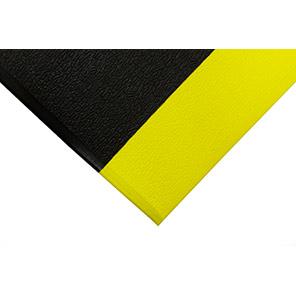 COBA Orthomat Standard Black/Yellow Anti-Fatigue Mat