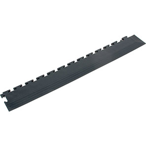 COBA Tough-Lock Eco Black Industrial Floorcover Corner Edge (Pack of 4)