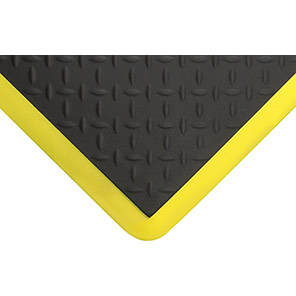 COBAelite Diamond Black/Yellow Anti-Fatigue Mat