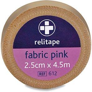Relitape Tan Fabric Elastic Medical Tape 4.5m