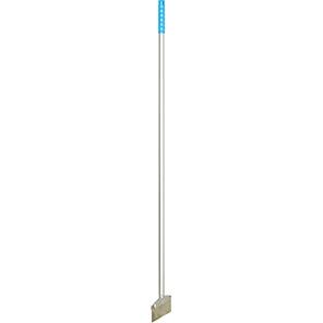 Hillbrush Blue Flexible Stainless Steel Scraper with Aluminium Handle