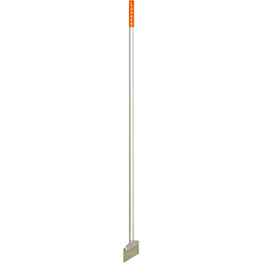 Hillbrush Orange Flexible Stainless Steel Scraper with Aluminium Handle