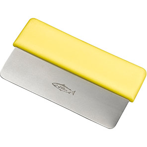 Hillbrush Yellow Stainless Steel Dough Cutter