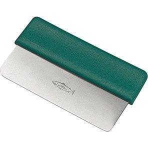 Hillbrush Green Stainless Steel Dough Cutter