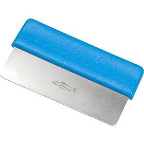 Hillbrush Blue Stainless Steel Dough Cutter