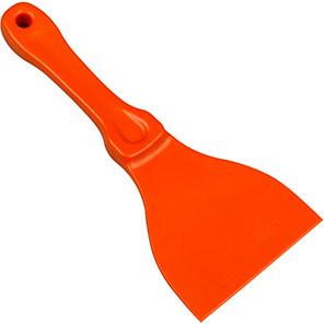 Hillbrush Orange Plastic Scraper (Pack of 10)