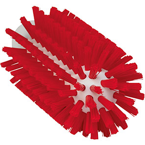 Vikan Red Hard 63mm Pipe Cleaning Brush (Pack of 15)