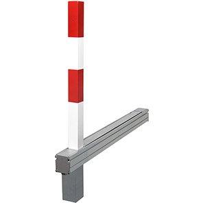 COMMANDER PLUS A Red/White Flush-Fit Drop-Down Post