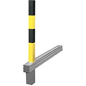 COMMANDER PLUS A Yellow/Black Flush-Fit Drop-Down Post