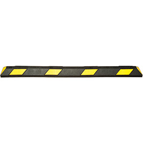 TRAFFIC-LINE PARK-IT Black/Yellow Wheel Stop