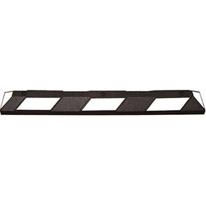 TRAFFIC-LINE PARK-IT Black/White Wheel Stop